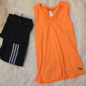 The North Face Workout Tank Neon Orange